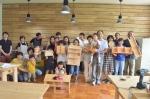 夏休み木工教室開催