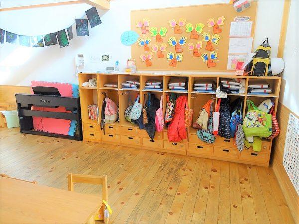 5歳児用収納ロッカー