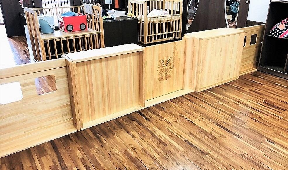 木製パーティション