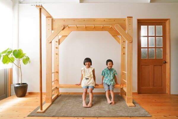木製雲梯(うんてい)