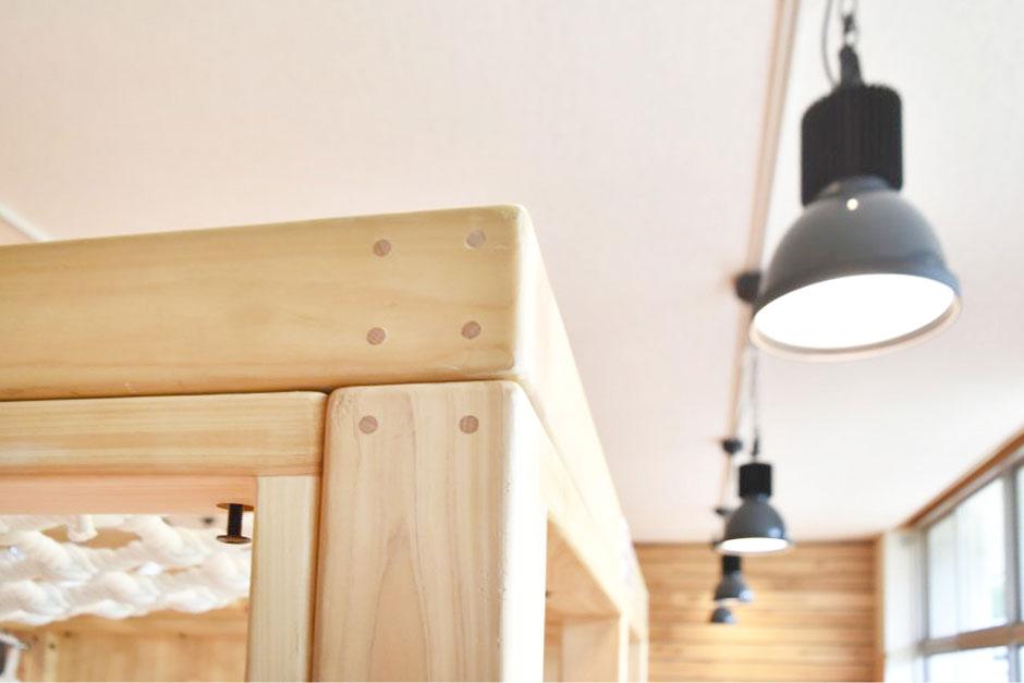 木製アスレチック