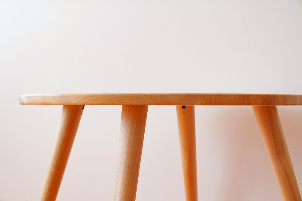 丸ダイニングテーブル