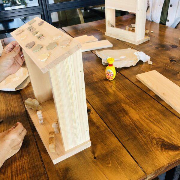 なかよしライブラリー木工教室