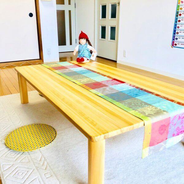 なかよしライブラリ―長テーブル