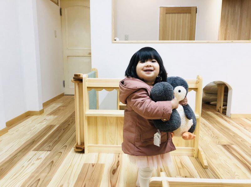 なかよしライブラリー 神戸店木育プレイルーム