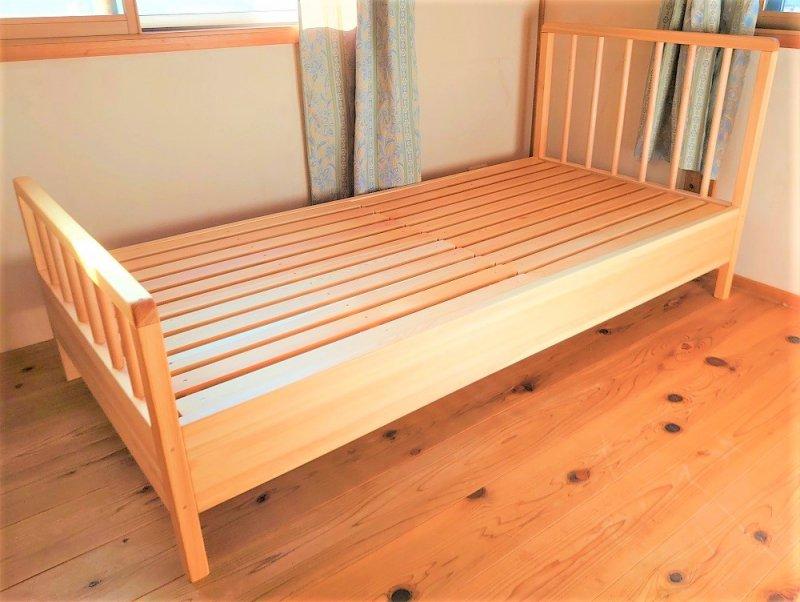 なかよしライブラリー ヒノキのベッド