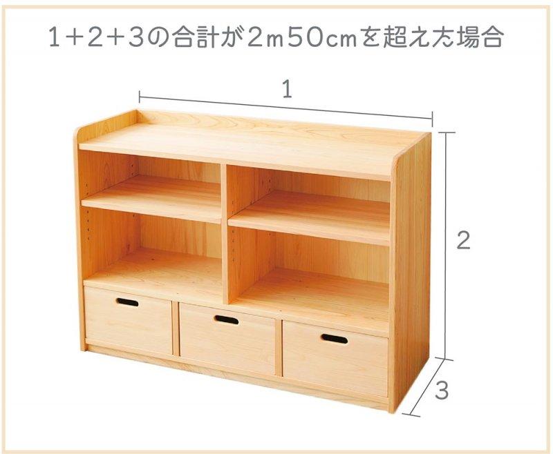 オーダー家具のサイズについて