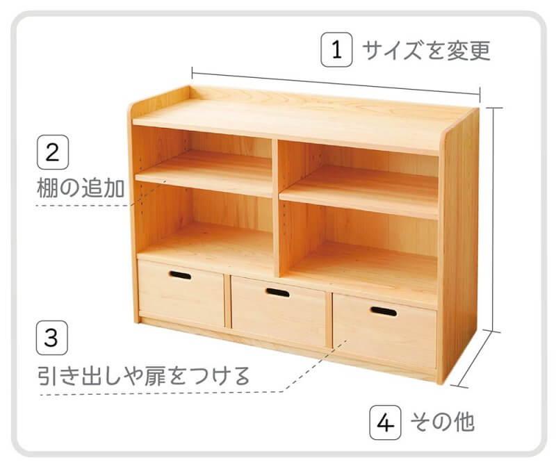 オーダー家具の特注ポイント