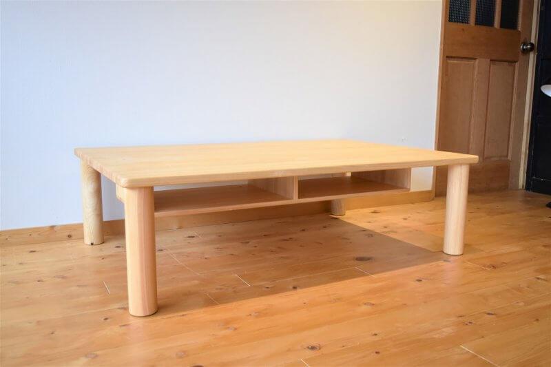 なかよしライブラリー ボックス付き長方形テーブル