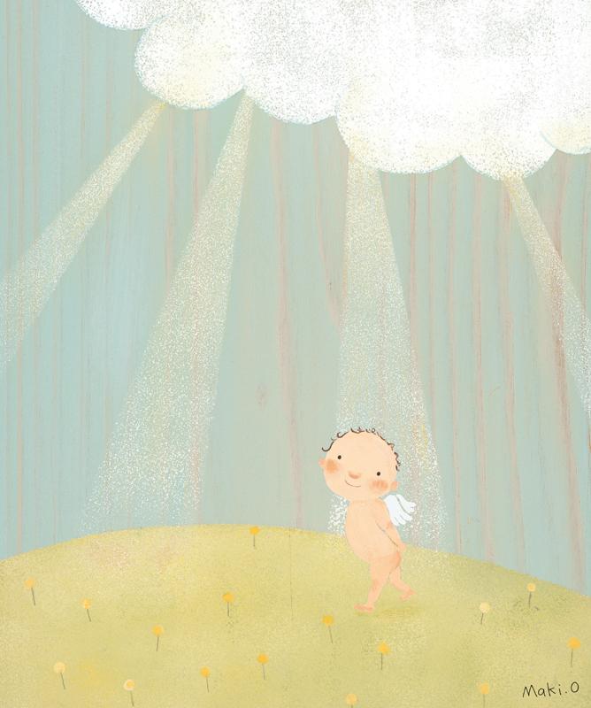 光の妖精 絵画
