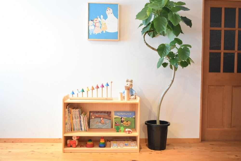 木製玩具棚