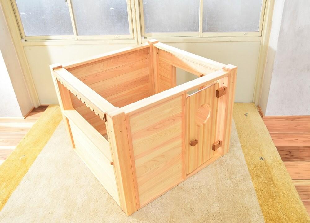 木製ミニハウス