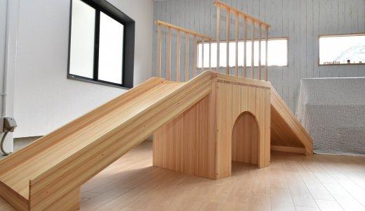木製遊具 滑り台を納品に行ってきました。