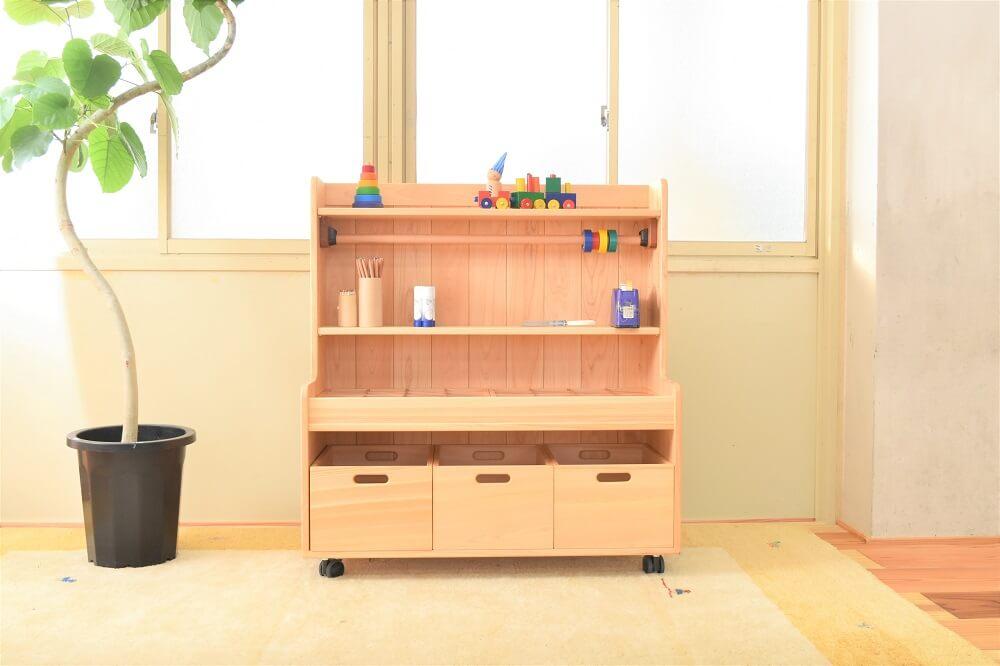 木製工作棚