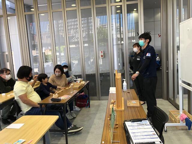 ネッツトヨタ神戸西宮テラスワークショップの写真