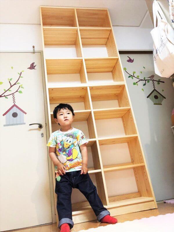 なかよしライブラリー 書棚