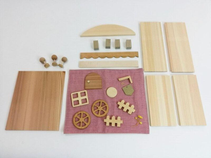 なかよしライブラリー木工キット