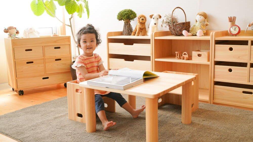 子供家具(キッズ家具)の子供椅子・テーブルのカテゴリ写真
