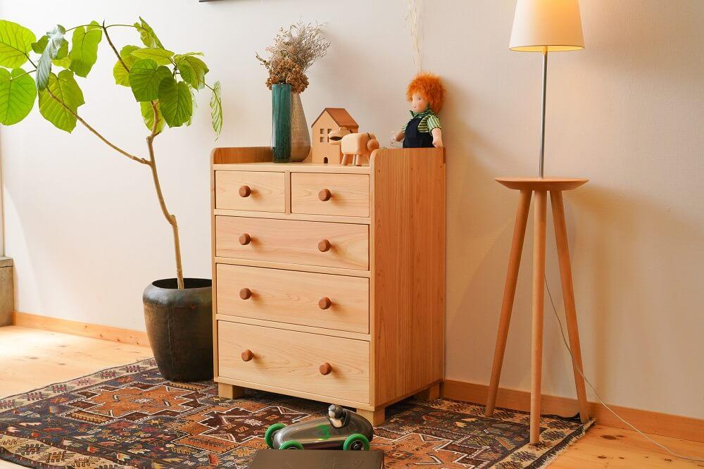 子供家具(キッズ家具)の子供タンスのカテゴリ写真