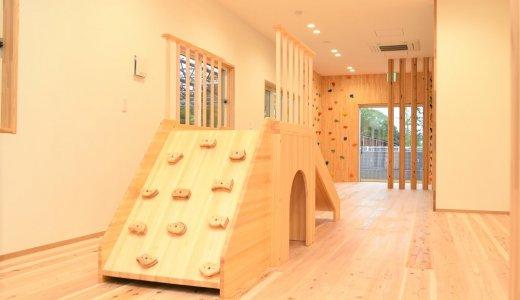 大人も子どもも夢中に。思いきり遊べる室内遊具
